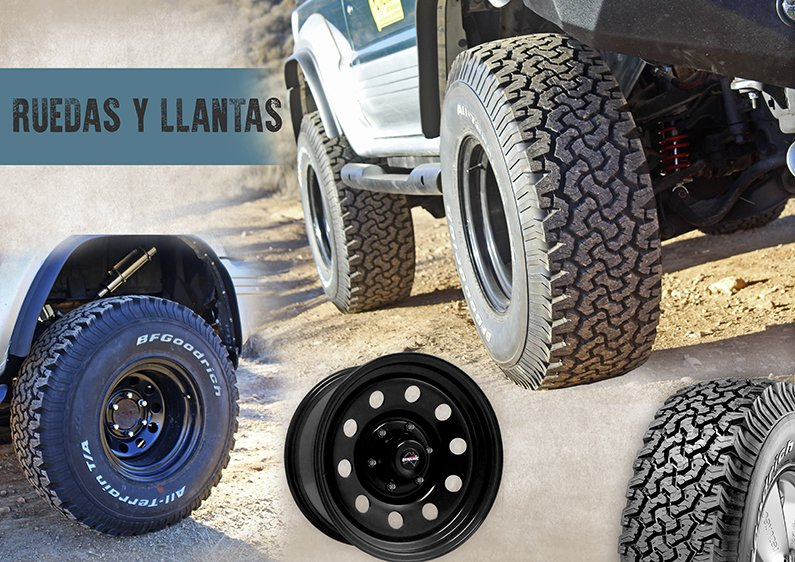 Neumáticos Mitsubishi Montero