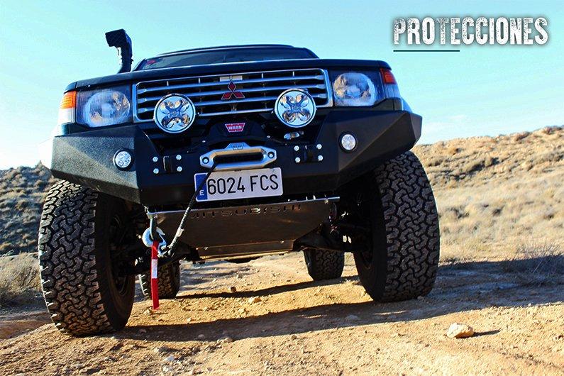 protecciones Mitsubishi Montero v20