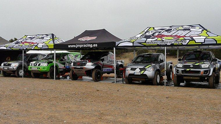 equipos rally raid