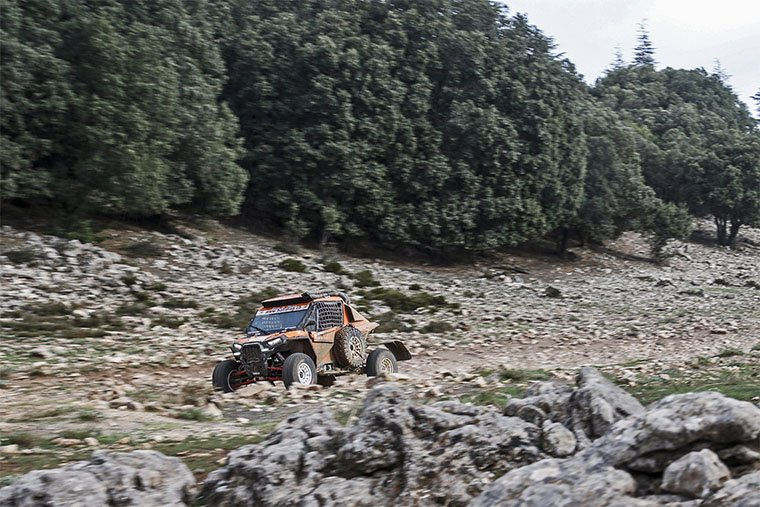 rallye du maroc bosque