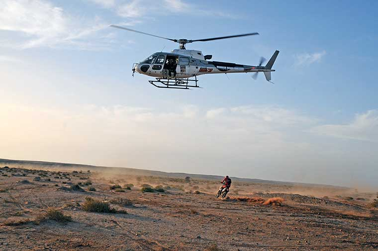 SAHARA HELICOPTER