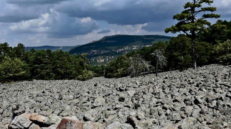 ríos de piedras