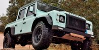 land rover defender off road